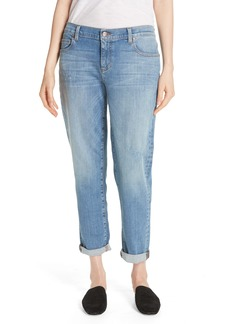 Eileen Fisher Stretch Organic Cotton Boyfriend Jeans (Regular & Petite)