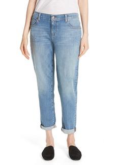 Eileen Fisher Stretch Organic Cotton Boyfriend Jeans