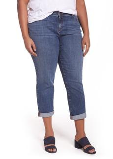 Eileen Fisher Stretch Organic Cotton Boyfriend Jeans (Plus Size)