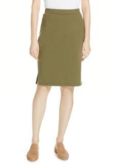 Eileen Fisher Organic Cotton Pencil Skirt