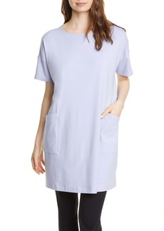 Eileen Fisher Stretch Organic Cotton Tunic