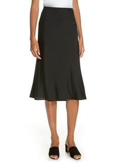 Eileen Fisher Stretch Silk Midi Skirt