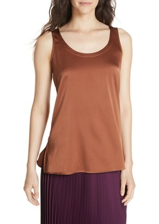Eileen Fisher Stretch Silk Shell