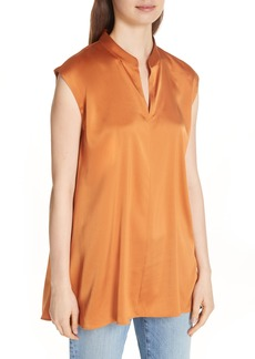 Eileen Fisher Stretch Silk Top