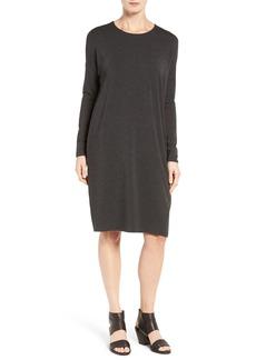 Eileen Fisher Stretch Tencel® Jersey Shift Dress