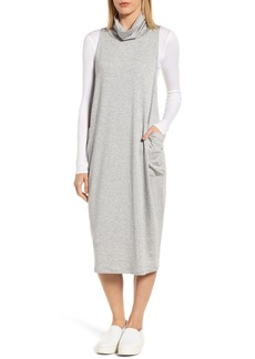 Eileen Fisher Stretch Tencel® Knit Jumper Dress