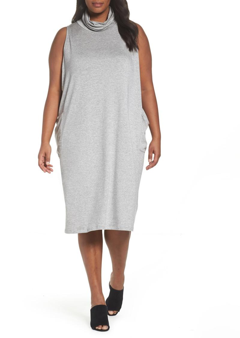 Stretch Tencel® Knit Jumper Dress (Plus Size)