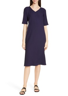 Eileen Fisher Stretch Tencel® Lyocell Shift Dress