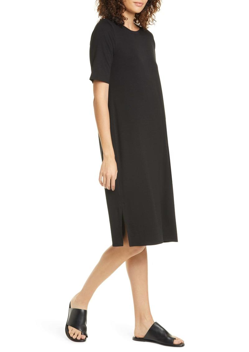 Eileen Fisher Stretch Tencel® Lyocell T-Shirt Dress