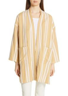 Eileen Fisher Stripe Kimono Jacket (Regular & Petite)