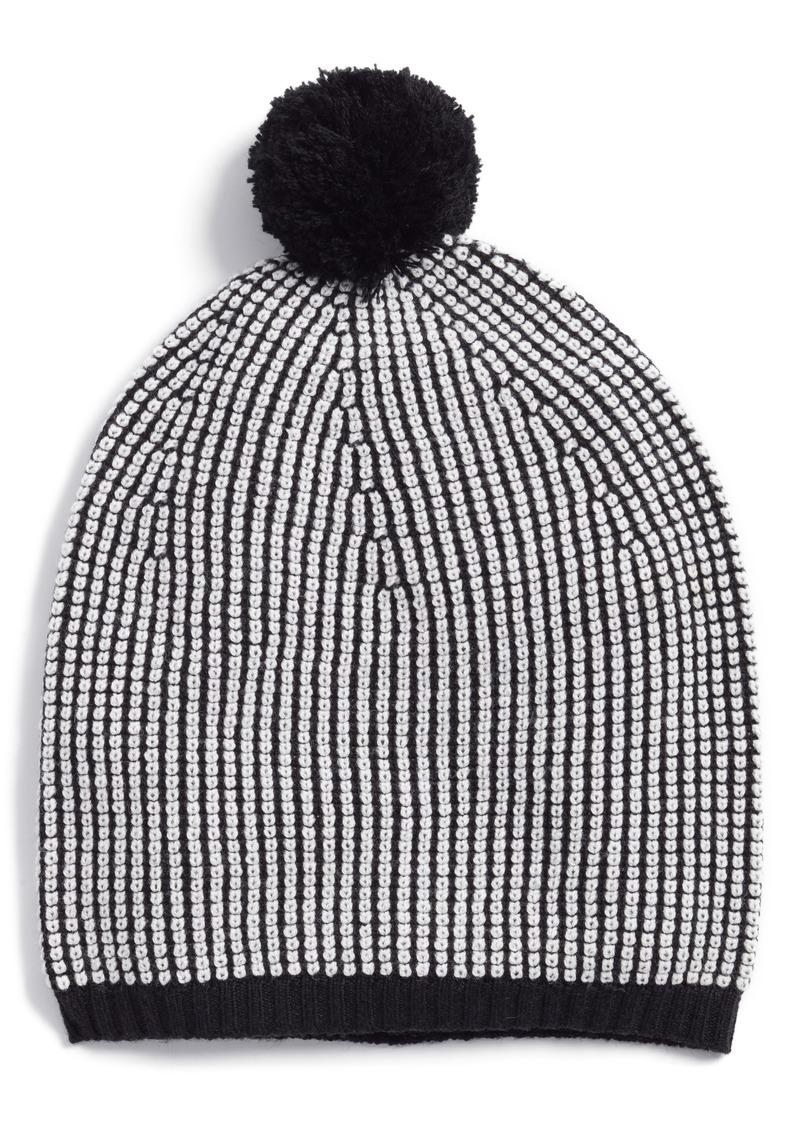 d2638479dd5 SALE! Eileen Fisher Eileen Fisher Stripe Merino Wool Beanie