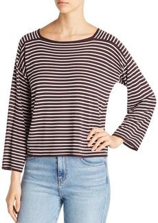 Eileen Fisher Striped Crop Sweater