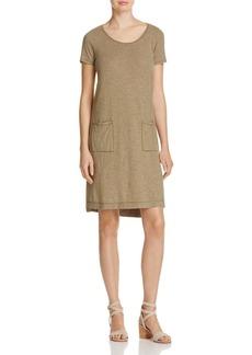 Eileen Fisher Striped T-Shirt Dress