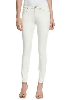 Eileen Fisher Sueded Organic-Stretch Sateen Jeans