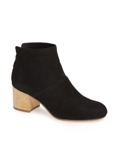 Eileen Fisher Suri Block Heel Bootie (Women)