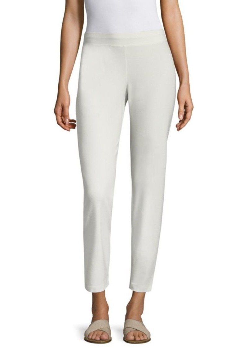 Eileen Fisher System Crepe Slim Pants