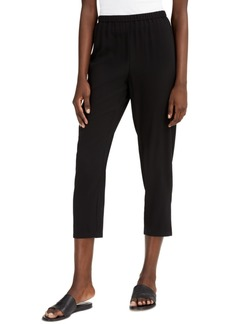 Eileen Fisher System Cropped Straight-Leg Pants, Regular & Petite Sizes