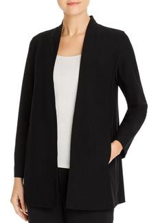 Eileen Fisher System Long Shawl Collar Jacket, Regular & Petite Sizes