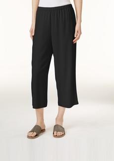 Eileen Fisher System Silk Cropped Pants, Regular & Petite