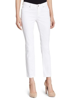 Eileen Fisher System Skinny Ankle Jeans in White, Regular & Petite