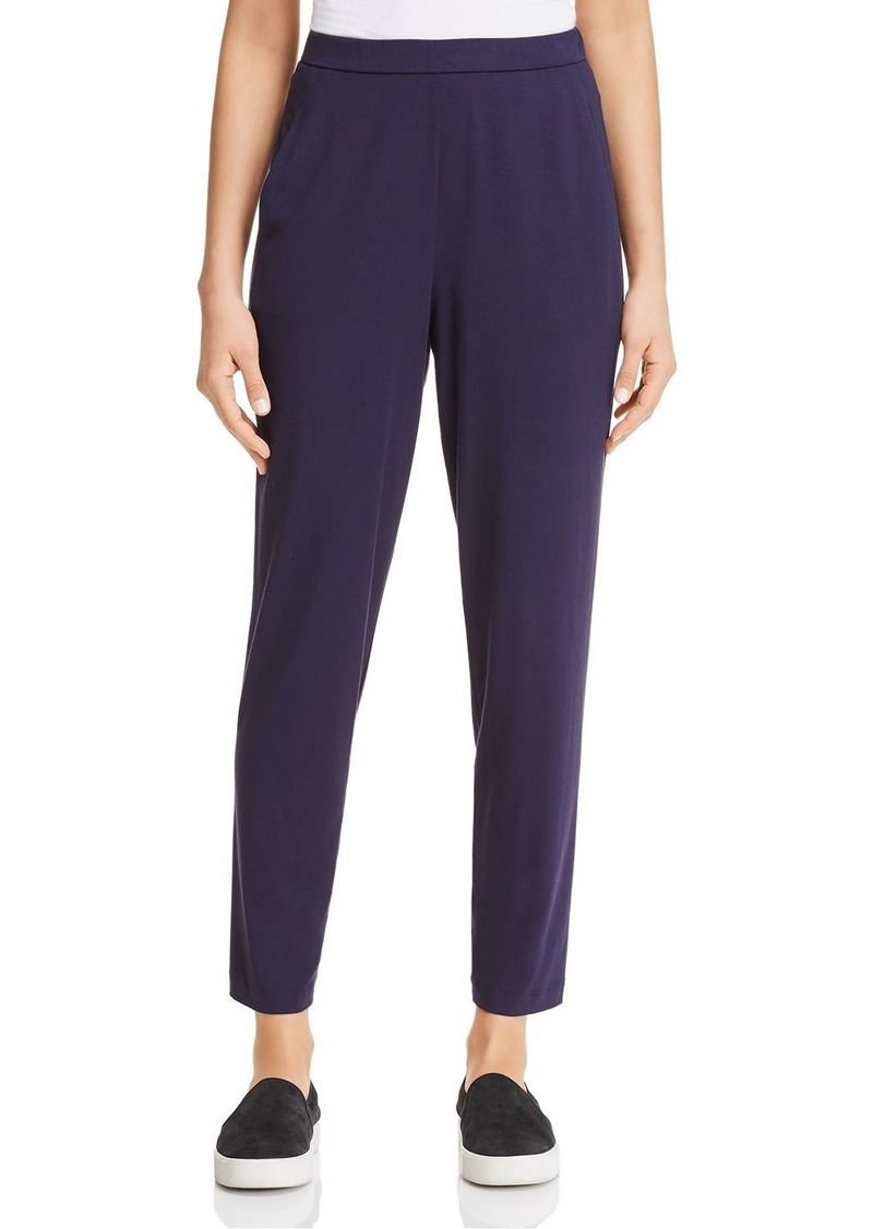 Eileen Fisher System Slim Ankle Slouchy Pants, Regular & Petite