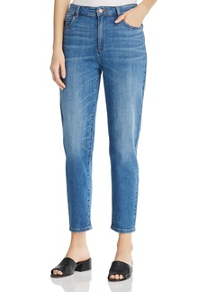 Eileen Fisher Tapered Ankle Jeans in Solar Blue