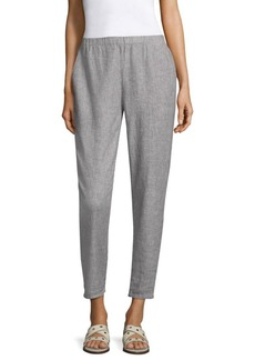 Eileen Fisher Tapered Ankle Length Pants