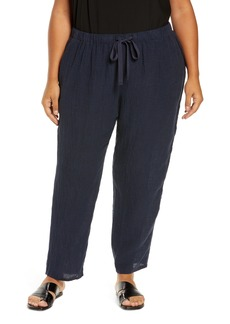 Eileen Fisher Tapered Ankle Pants (Plus Size)