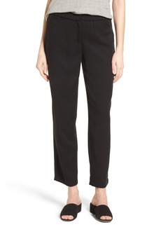 Eileen Fisher Tapered Ankle Trousers