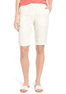 Eileen Fisher Tencel® & Linen Bermuda Shorts