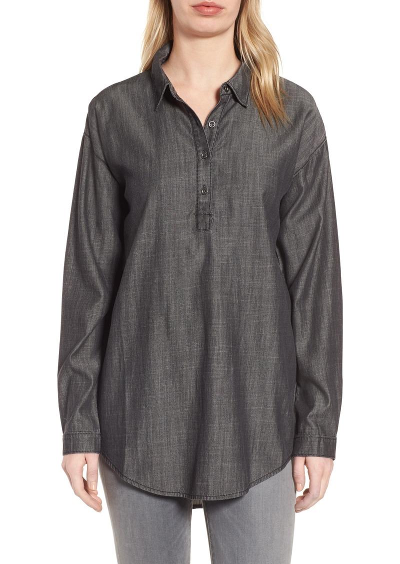 Eileen fisher eileen fisher tencel organic cotton tunic for Eileen fisher organic cotton t shirt