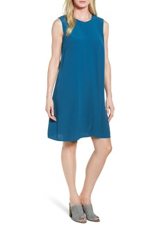 Eileen Fisher Tencel® Blend A-Line Shift Dress