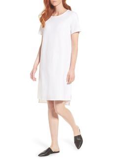 Eileen Fisher Tencel® Blend Knit Shift Dress (Regular & Petite)