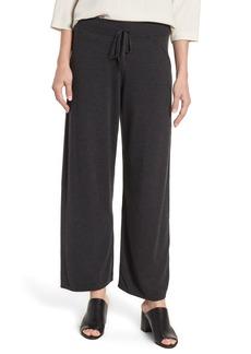 Eileen Fisher Tencel® Lyocell Blend Knit Wide Leg Pants