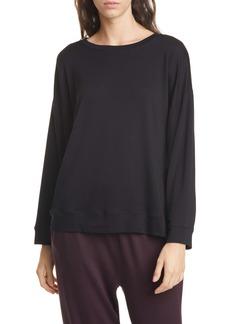 Eileen Fisher Tencel® Blend Pullover (Regular & Petite)