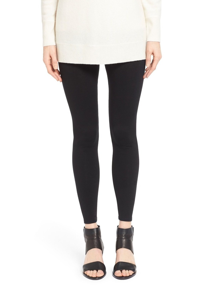 Eileen Fisher Tencel® Fleece Ankle Leggings (Regular & Petite)