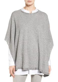 Eileen Fisher Tencel® Knit Poncho