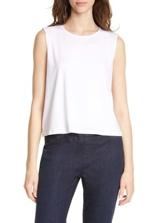 Eileen Fisher Tencel® Lyocell Blend Shell