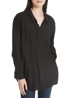 Eileen Fisher Tencel® Lyocell Shirt (Regular & Petite)