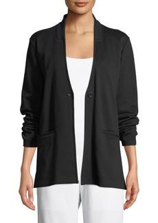 Eileen Fisher Tencel® Ponte Knit Easy Blazer