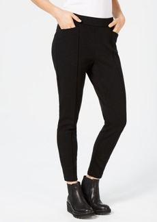 Eileen Fisher Tencel Ponte Pintucked Skinny Pants, Created for Macy's