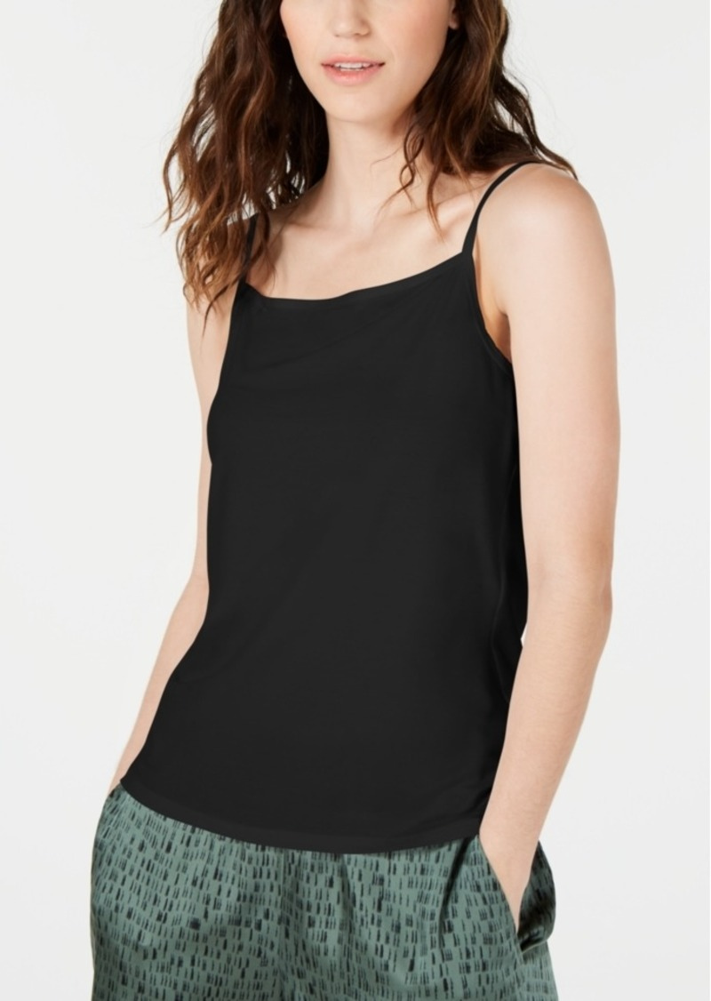 Eileen Fisher Tencel Square-Neck Camisole