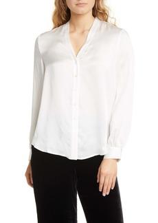 Eileen Fisher Textured Silk Shirt