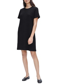 Eileen Fisher Textured T-Shirt Dress