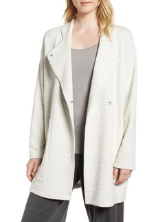 Eileen Fisher Textured Tencel® Lyocell Kimono Jacket