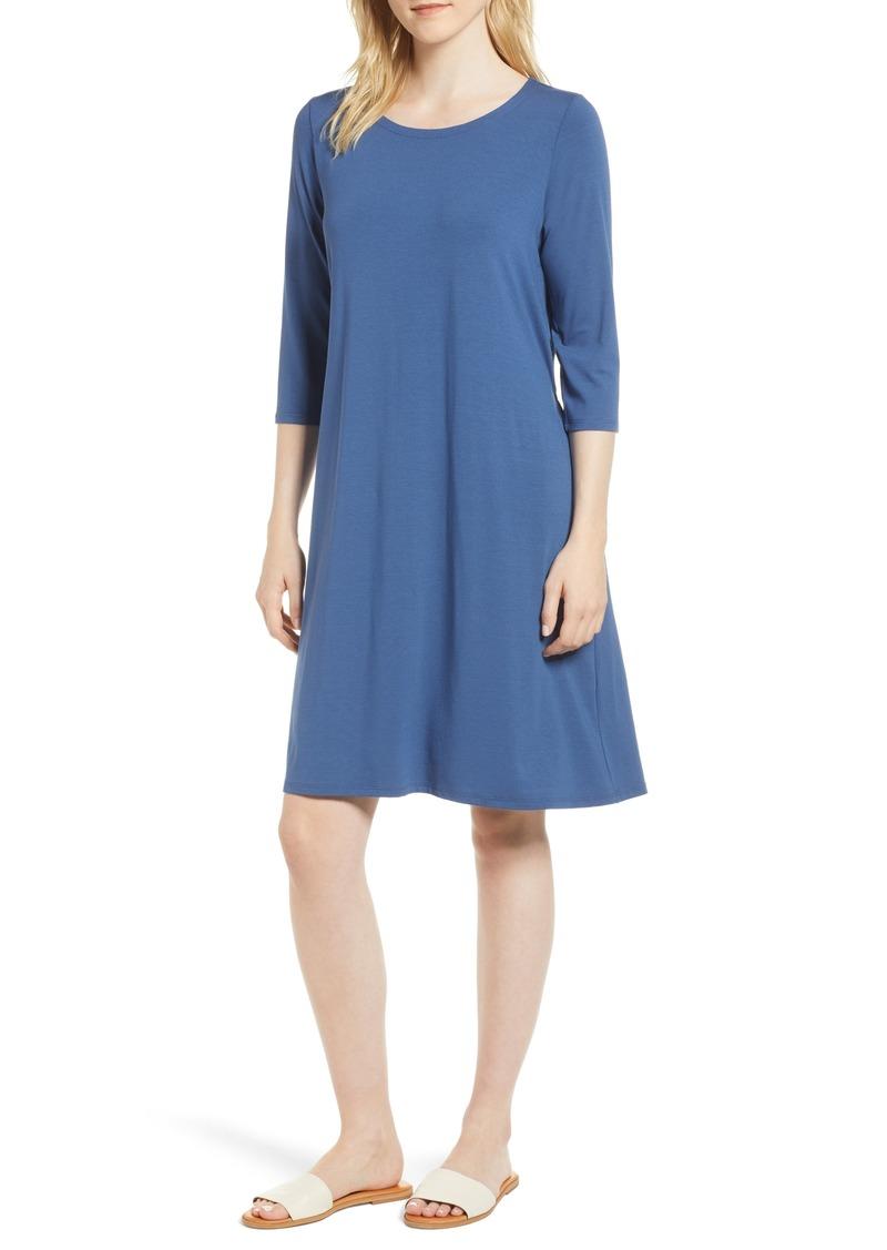 2bc4951184 On Sale today! Eileen Fisher Eileen Fisher Tie Back Dress (Regular ...
