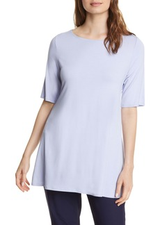 Eileen Fisher Tie Back Stretch Tencel® Lyocell Top