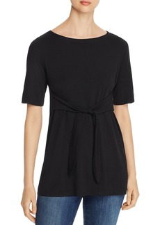 Eileen Fisher Tie-Waist Top