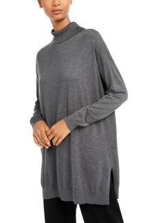 Eileen Fisher Turtleneck Tunic Sweater, Regular & Petite