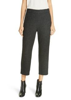 Eileen Fisher Twill Knit Crop Trousers